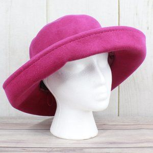 AUGUST HATS Rolled Wide Brim Fashion Hat Size OS